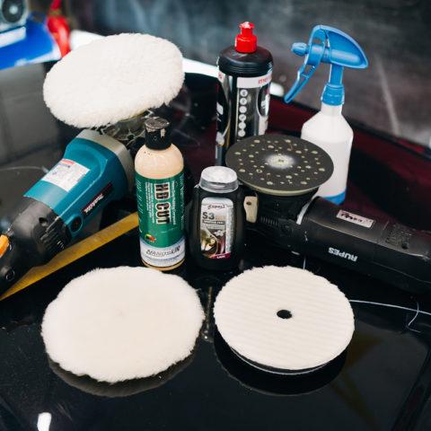 полировка авто, качественные материалы для полировки фото, детейлинг фото, полировка инструмент фото